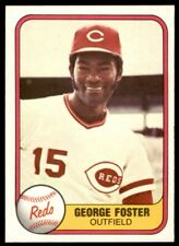 1981 Fleer #216 George Foster REDS NR-MINT *744
