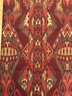 Vintage Cotton Tapestry Factory Sample Remnant Made In Spain