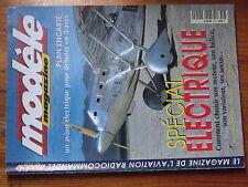 $$x Revue modele magazine N°559 PLan encarte ADES  special electrique  Cosmic