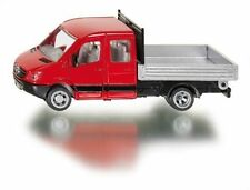SIKU 3538 MERCEDES SPRINTER TRANSPORTER With Flatbed Scale 1 50 #
