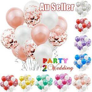 15Pcs ins Confetti Latex Balloons Balloon Set Birthday Wedding Party Decoration