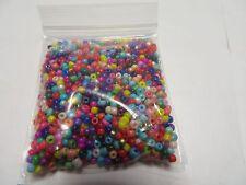 1000 un. 2mm Redondo Espaciador Granos de Semilla de vidrio para la fabricación de joyas-Reino Unido Proveedor