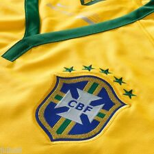 NIKE MENS DRI-FIT BRAZIL 2014 HOME MATCH JERSEY - AUTHENTIC PLAYERS SIZE S $150