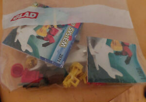 2871 diver and shark Lego system