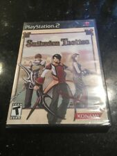 Suikoden Tactics PlayStation 2 PS2 Complete BRAND NEW FACTORY SEALED RPG Rip Top