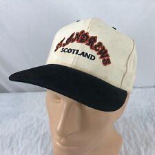Vtg St Andrews Scotland Hat Strapback Cap Golf Course Links