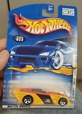 2001 Hot Wheels #22 Yellow Shredster with 5 Spoke Wheels Yellow Diecast