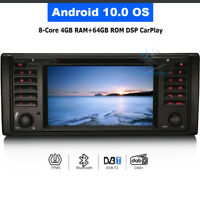 "7"" Android 10.0 GPS Navigation Autoradio DVD DAB+ DSP for Range Rover Vogue L322"