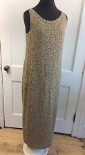 ISDA & Co Silk Green Maxi Dress Women's Small