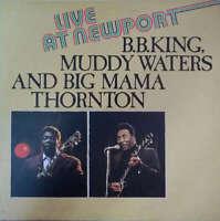 B.B. King & Big Mama Thornton & Muddy Waters Live LP Vinyl Schallplatte 177048