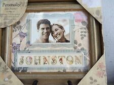 NWT PERSONALIZE FRAME WITH PHOTO & NAME OR WORDS,LETTERS INCLUDED! GREAT GIFT!