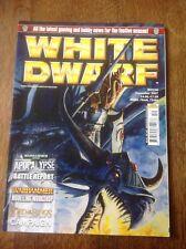 Warhammer. enana blanca edición 336. Warhammer revista.