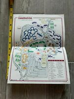 Vintage 1980s Marriott's Camelback Inn Hotel Golf Resort Scottsdale Arizona Map