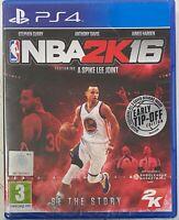 NBA 2K16 (Sony Playstation 4/PS4) New Sealed