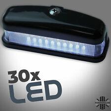 LED Rear Number plate lamp in Black for Land Rover Defender 90 100 130 light SVX