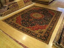 10 x 13 Handmade Fine Quality Antique Persian Tabriz Wool Rug .Great Condition