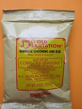 Bbq Rub Leggs Old Plantation for Ribs Beef Brisket Chicken Pork for 25 lbs meat