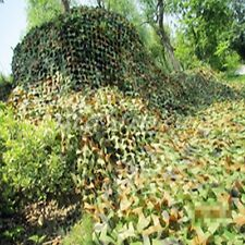Woodland Leaves Camouflage Camo Net Netting Camping Military Hunting Disguise