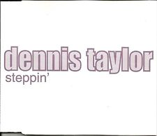 DENNIS TAYLOR Steppin  2 RARE MIXES & RADIO TRK UK CD Single SEALED USA Seller