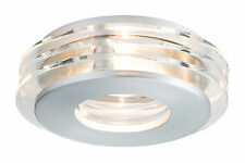 Paulmann Einbauleuchten-set Premium Line Shell LED Alu Gebürstet/glas