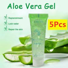 5X Natural Aloe Vera Gel 100% PURE ORGANIC Soothing Gel Moisturizer Anti-Acne UK