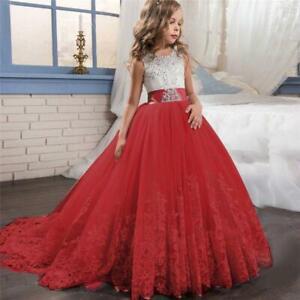 Vestidos De Fiesta de Niña Para Bodas Bautizos Prom Niñas Quinces 2020