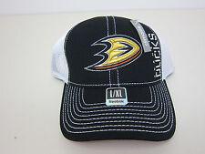 Reebok NHL Anaheim Ducks Mesh Back Hat - Adult L/XL - NWT
