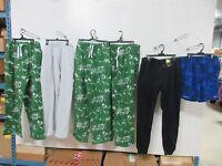 6 LG MEN CLOTHES SWIM TRUNKS LOT PAJAMAS EVERLAST JOE BOXER JOGGERS SWEAT PANTS