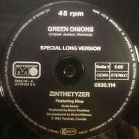 "Zinthethyzer* Green Onions 12"" Vinyl Schallplatte 145848"
