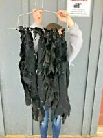 Soft Tanned Fisher Pelts, dyed black fur, hunting, decor, craft blackfishpen