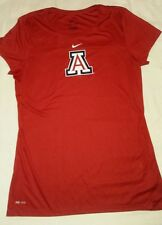 """NIKE DRI-FIT """"U OF A"""" SHIRT SZ MEDIUM, RED, COLLECTOR PRE-OWNED CLEAN"""