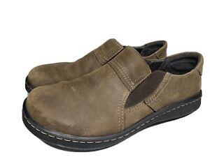 Naot Men's Nubuck Leather Loafers Slip On  Size 9US EUR 42