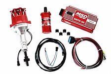 Ford 289 302 MSD Ignition 6AL Box w/Pro Billet Distributor & Blaster II Coil SBF