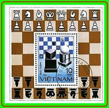 VIETNAM 1983 CHESS S/S  CTO  SPORTS (LAT2)