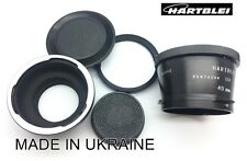 Pentacon Six 6 P6 Kiev 60 88CM+Salut/Salyut K-88 Lens to Nikon F Adapter+MACRO