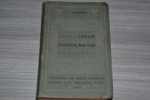 Précis d' ophtalmologie de 1907 par V. Morax  / C3