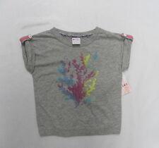 Roxy Kids 5T Top Shirt Cruise Grey