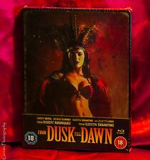 From Dusk Till Dawn Zavvi (UK) Exclusive Steelbook Blu-Ray NEW