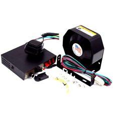 8 Sound Loud Car Warning Police Fire Siren Horn PA Speaker MIC System Dossy
