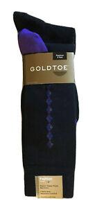 NWT GOLDTOE Black Bamboo Mens Dress Socks 3 Pair PKG.Style:2056S, Shoe SZ 6-12.5