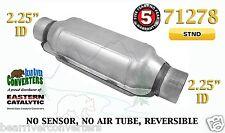 "Eastern Universal Catalytic Converter Standard 2.25"" 2 1/4"" Pipe 12"" Body 71278"