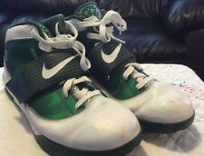 Nike Zoom Soldier IV TB Lebron James Witness Size 17.5  Eur 52 Green White