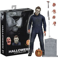 "Halloween Toy 1:12 Ultimate Michael Myers 7"" Action Figure 2018 Movie Terror Toy"