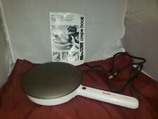 MAXIM ELECTRIC CREPE MAKER - CM-5 - Tested and Working
