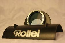Rollei Hellblau Frank & Heideche 28.5 Light Blue Filter + Rollei Leather Case