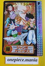 DRAGON BALL Z JUMBO CARD Carddass Hondan Goku/Gohan Prism