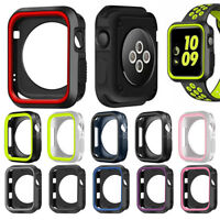 Protective Watch Protector Bumper TPU Case Cover For Apple Watch Series 4 3 2 1