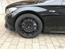 Winterräder Mercedes C43 AMG Kombi W205K 225/245er RH Mo Edition schwarz Pirelli