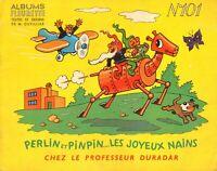 Perlin et Pinpin...les joyeux nains - Albums Fleurette n°101 - textes et dessins