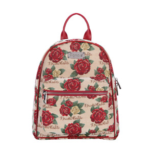 Day Pack by Signare Tapestry FRIDA KAHLO ROSE